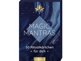 Magic Mantras 50 Ritualkaertchen fuer dich