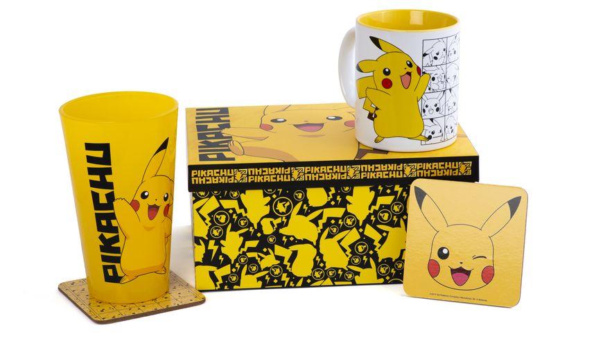 Geschenkset - Pokémon - Pikachu