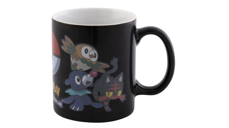 Thermoeffekt Tasse - Pokémon - Catch Em All