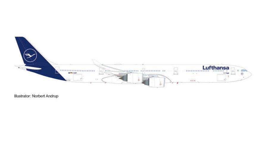 "Herpa 534192 - Lufthansa Airbus A340-600 ""Lübeck"""