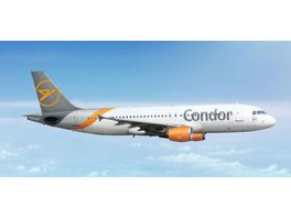 Herpa 534307 Condor Airbus A320 new 2019 colors