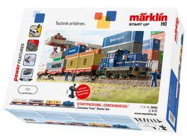 Maerklin 29453 H0 Start up Startpackung Containerzug