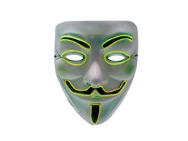 Makotex Halloween Maske Anonym gelb 996984359