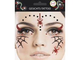 Makotex Gesichts Tattoo Spinne 998987879 3