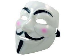 Makotex Maske Anonymus weiss 991993669