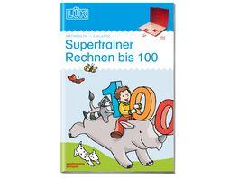 LUeK Supertrainer Rechnen bis 100 Kopfrechenuebungen ANH 0101 seit 2012 13 Kl 2 3