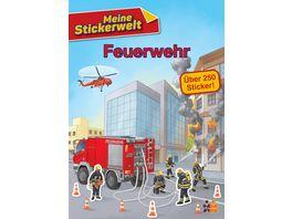 Meine Stickerwelt Feuerwehr