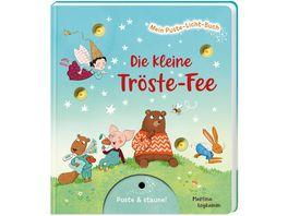 Mein Puste Licht Buch Die kleine Troeste Fee Pappebuch mit Puste Licht und LED Laempchen Mitmachbuch fuer Kinder ab 18 Monaten