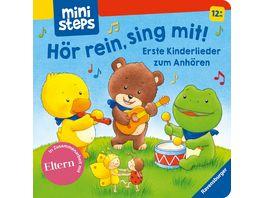 Hoer rein sing mit Erste Kinderlieder zum Anhoeren Ab 12 Monaten