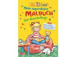 Conni Gelbe Reihe Mein superdickes Malbuch fuer Kuscheltage