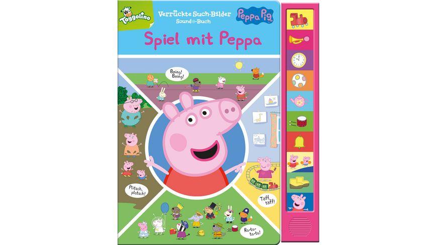 Peppa Pig: Spiel mit Peppa! Pappbilderbuch mit 10 Sounds
