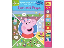Peppa Pig Spiel mit Peppa Pappbilderbuch mit 10 Sounds