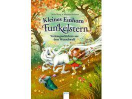 Kleines Einhorn Funkelstern Vorlesegeschichten aus dem Wunschwald