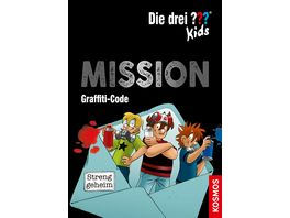 Die drei Kids Mission Graffiti Code