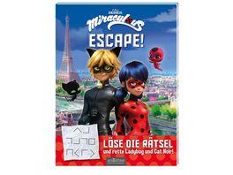 Miraculous Escape Loese die Raetsel und rette Ladybug und Cat Noir
