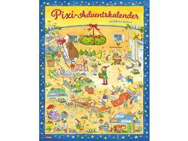 Pixi Adventskalender 2020 Adventskalender mit 22 Pixi Buechern und 2 Maxi Pixi