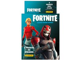 Panini Fortnite Reloaded Black Frame Series Sticker Blister