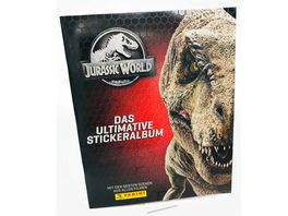 Panini Jurassic World Sticker und Cards Album