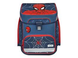 Scooli Schulranzen Set EasyFit 5teilig Spiderman