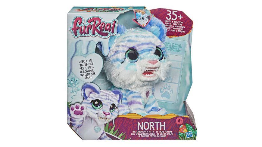 Hasbro FurReal Friends furReal North das Saebelzahnkaetzchen