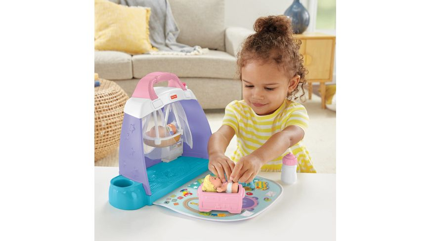 Fisher Price Little People Babys Kinderzimmer