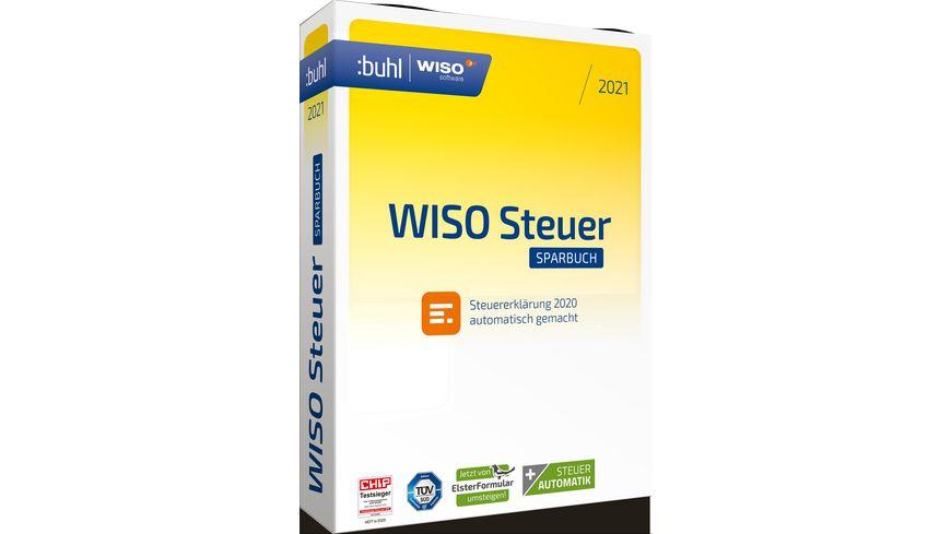 WISO Steuer-Sparbuch 2021 online bestellen | MÜLLER