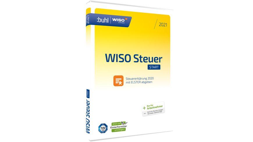 WISO Steuer-Start 2021 (DVD-Box) online bestellen | MÜLLER