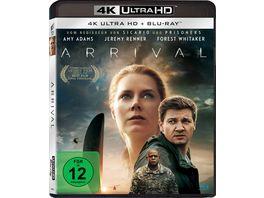 Arrival 4K Ultra HD Blu ray 2D