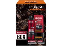 L OREAL PARIS MEN EXPERT Red Hygiene Box