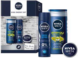 NIVEA MEN High Energy Geschenkset
