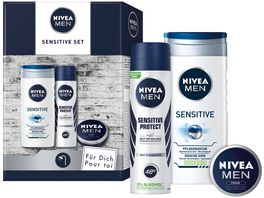 NIVEA MEN Sensitive Geschenkset