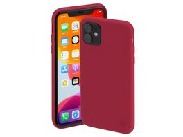 Hama Cover Finest Feel fuer Apple iPhone 11 Rot
