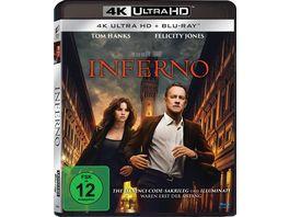 Inferno 4K Ultra HD Blu ray 2D
