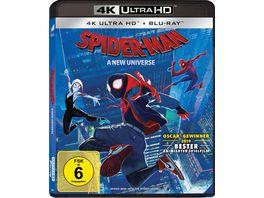 Spider Man A new Universe 4K Ultra HD Blu ray 2D