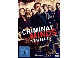 Criminal Minds Die komplette fuenfzehnte Staffel 3 DVDs