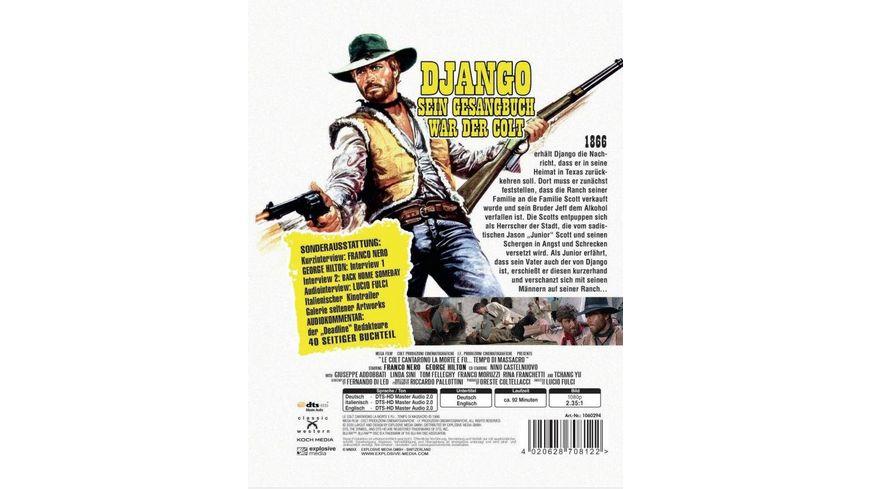 Django Sein Gesangbuch war der Colt Mediabook Cover B Limited Edition DVD