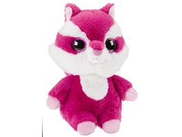 Mueller Toy Place Yoohoo Plueschtier Chewoo rotes Eichhoernchen 27 cm