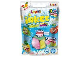 Craze Inkee 3 Badekugeln Fruity Pack