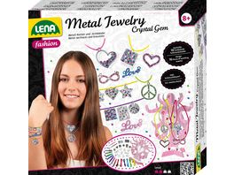 Lena Metal Jewelry Crystal Gem mit Tattoo GRATIS Probe