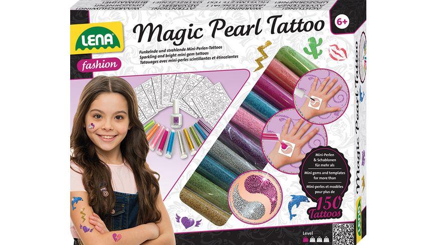 Lena Magic Pearl Tattoo mit Jewelry GRATIS Probe