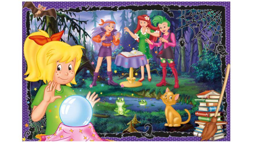 Schmidt Spiele Kinderpuzzle Bibi Blocksberg Voll verhext 60 Teile