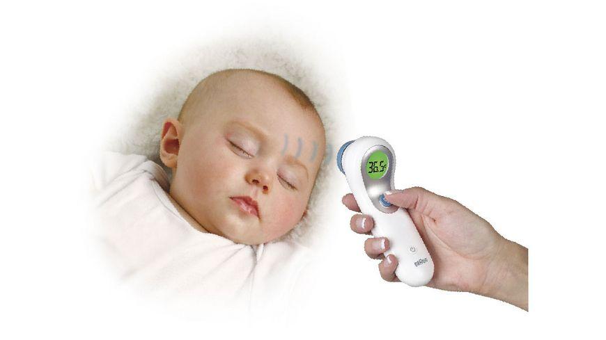 BRAUN Stirnthermometer kontaktlos NTF3000WE