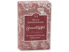 Florex Schafsmilchseife Granatapfel