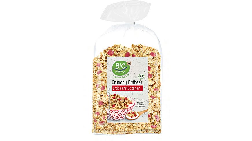 BIO PRIMO Crunchy Erdbeer