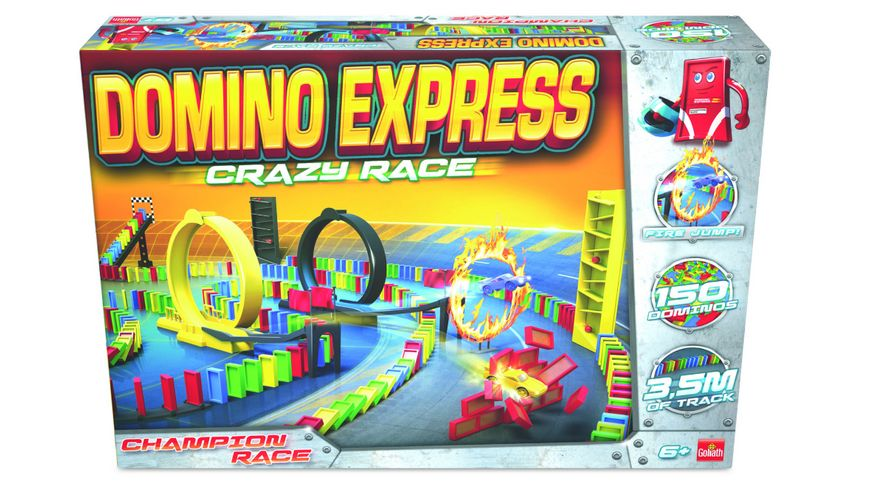Goliath Toys - Domino Express Crazy Race