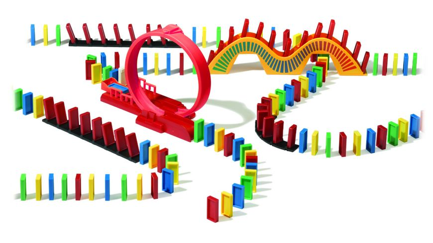 Goliath Toys Domino Express Amazing Looping