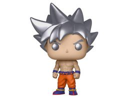 Funko POP Dragon Ball Z Goku Ultra Instinct Figur aus Vinyl ca 10 cm gross