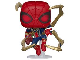 Funko POP Marvel Iron Spider Figur aus Vinyl ca 10 cm gross