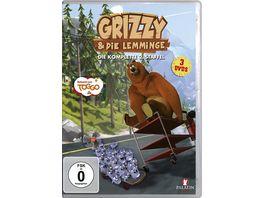 Grizzy Die Lemminge Die komplette Staffel 2 78 Episoden 3 DVDs