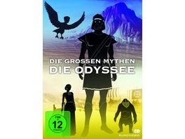 Die grossen Mythen Die Odyssee 2 DVDs